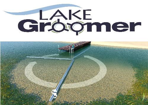 Lake Groomer lake weed roller removal machine
